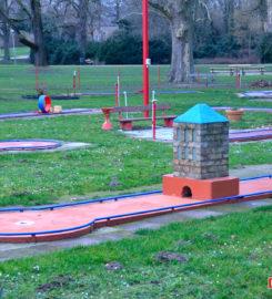 Minigolf Speyer im Domgarten