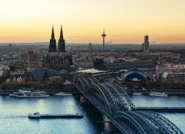 Köln, Millionenmetropole in Nordrhein-Westfalen